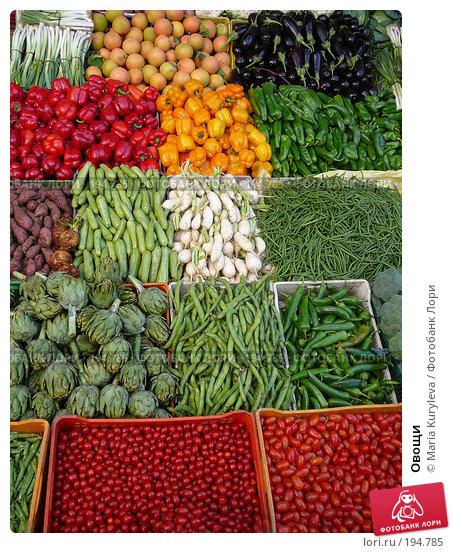 Овощи, фото № 194785, снято 25 ноября 2007 г. (c) Maria Kuryleva / Фотобанк Лори