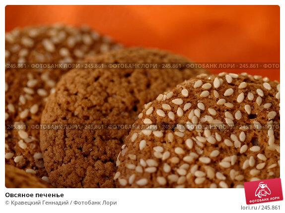Овсяное печенье, фото № 245861, снято 20 января 2004 г. (c) Кравецкий Геннадий / Фотобанк Лори