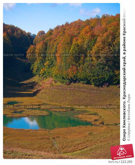 Купить «Озеро Хмелевского. Краснодарский край, в районе Красной поляны», фото № 223285, снято 1 октября 2007 г. (c) Liseykina / Фотобанк Лори