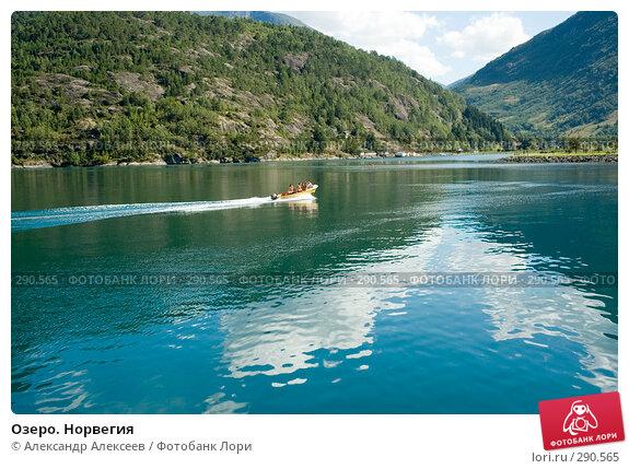 Озеро. Норвегия, эксклюзивное фото № 290565, снято 2 августа 2006 г. (c) Александр Алексеев / Фотобанк Лори
