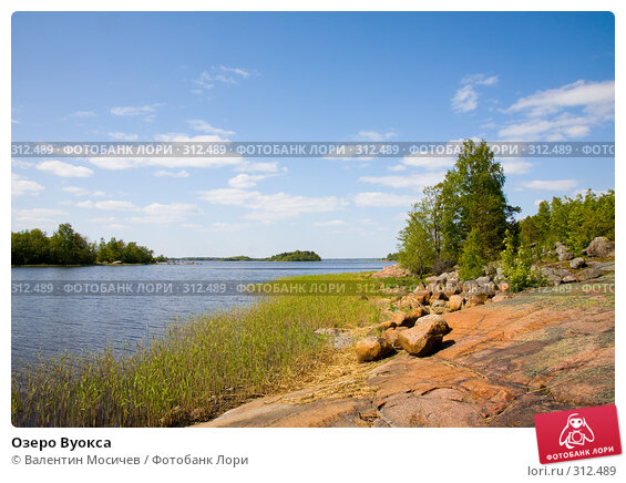 Озеро Вуокса, фото № 312489, снято 25 мая 2008 г. (c) Валентин Мосичев / Фотобанк Лори