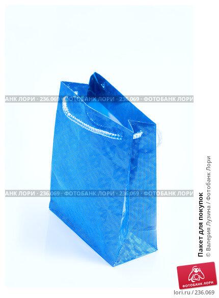 Купить «Пакет для покупок», фото № 236069, снято 24 марта 2008 г. (c) Валерия Потапова / Фотобанк Лори
