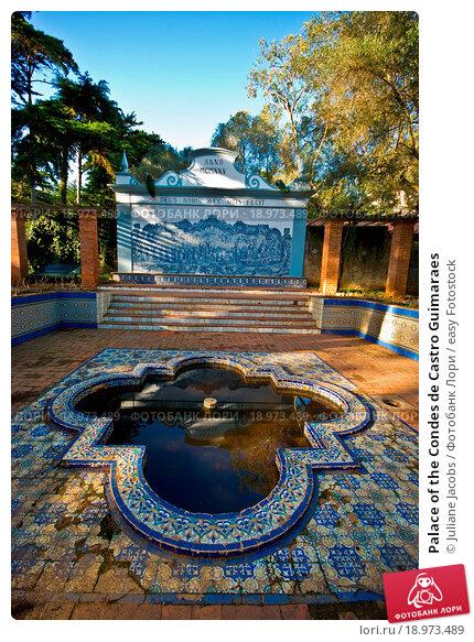 Купить «Palace of the Condes de Castro Guimaraes», фото № 18973489, снято 18 февраля 2020 г. (c) easy Fotostock / Фотобанк Лори