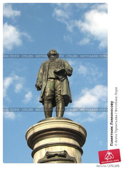 Памятник Ломоносову, фото № 270205, снято 30 марта 2007 г. (c) Агата Терентьева / Фотобанк Лори