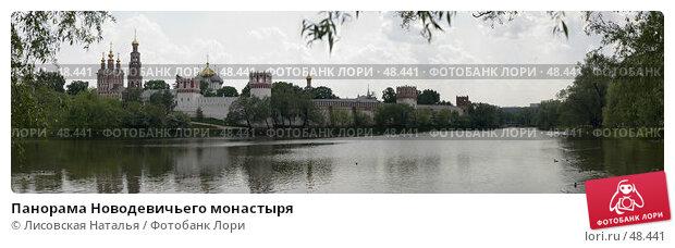 Панорама Новодевичьего монастыря, фото № 48441, снято 22 августа 2017 г. (c) Лисовская Наталья / Фотобанк Лори
