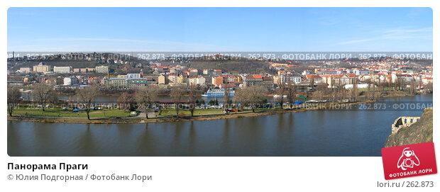 Панорама Праги, фото № 262873, снято 4 декабря 2016 г. (c) Юлия Селезнева / Фотобанк Лори