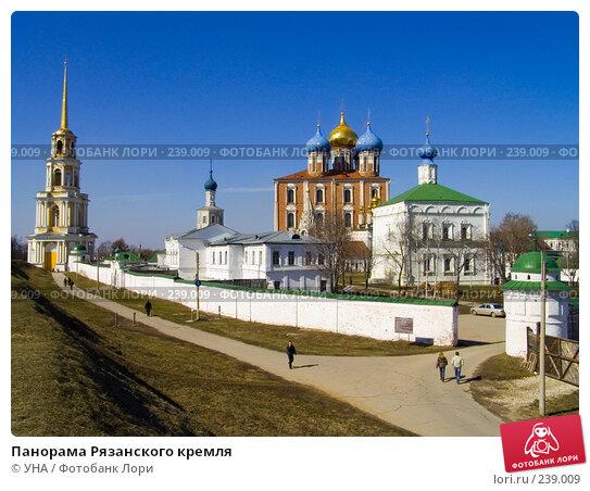 Купить «Панорама Рязанского кремля», фото № 239009, снято 6 декабря 2018 г. (c) УНА / Фотобанк Лори