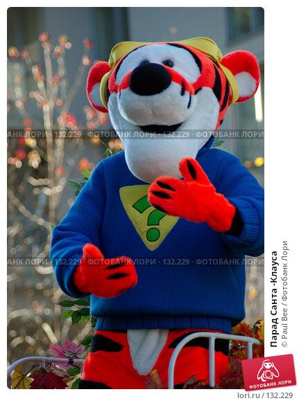 Купить «Парад Санта -Клауса», фото № 132229, снято 25 ноября 2007 г. (c) Paul Bee / Фотобанк Лори