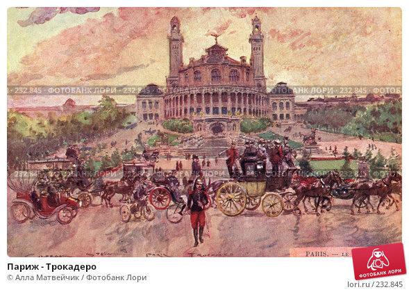 Купить «Париж - Трокадеро», иллюстрация № 232845 (c) Алла Матвейчик / Фотобанк Лори