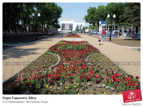Купить «Парк Горького. Ейск», фото № 84553, снято 30 июня 2007 г. (c) A Челмодеев / Фотобанк Лори