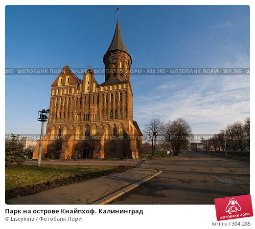 Парк на острове Кнайпхоф. Калининград, фото № 304285, снято 30 декабря 2007 г. (c) Liseykina / Фотобанк Лори