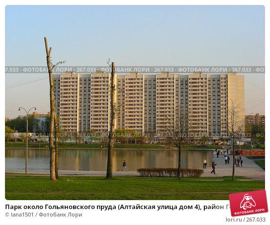 Парк около Гольяновского пруда (Алтайская улица дом 4), район Гольяново, Москва, эксклюзивное фото № 267033, снято 28 апреля 2008 г. (c) lana1501 / Фотобанк Лори