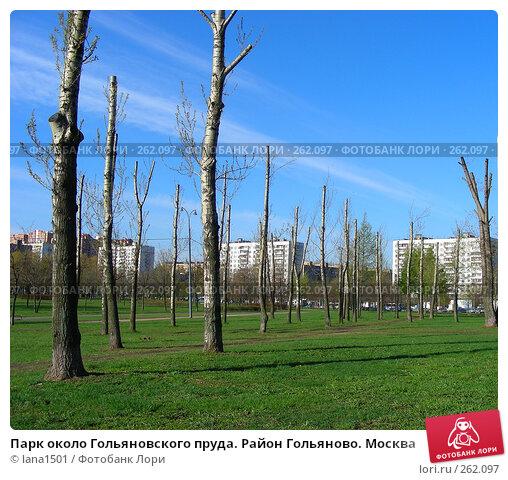 Купить «Парк около Гольяновского пруда. Район Гольяново. Москва», эксклюзивное фото № 262097, снято 23 апреля 2008 г. (c) lana1501 / Фотобанк Лори