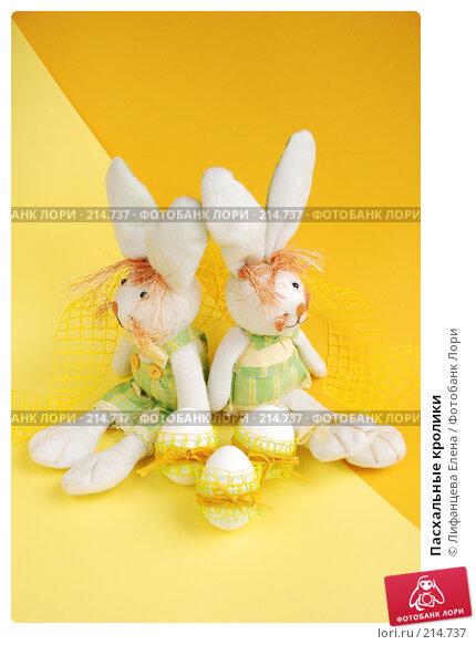 Пасхальные кролики, фото № 214737, снято 2 марта 2008 г. (c) Лифанцева Елена / Фотобанк Лори