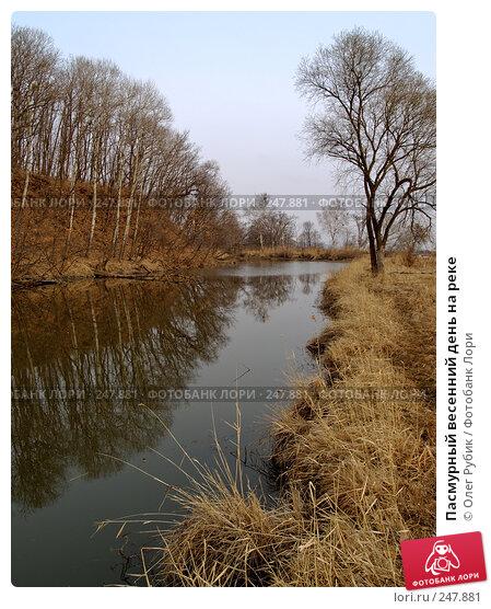 Пасмурный весенний день на реке, фото № 247881, снято 10 апреля 2008 г. (c) Олег Рубик / Фотобанк Лори