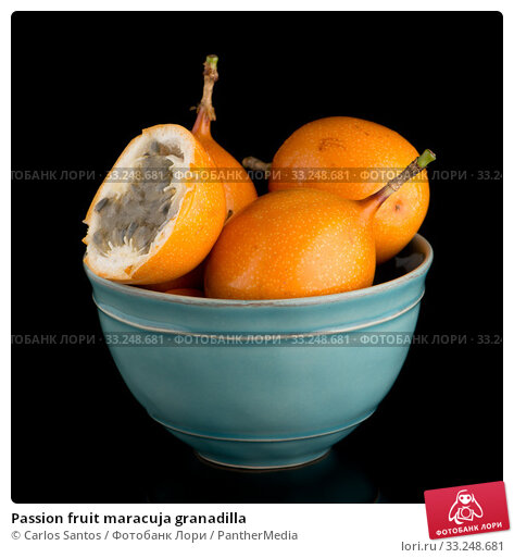 Купить «Passion fruit maracuja granadilla», фото № 33248681, снято 12 июля 2020 г. (c) PantherMedia / Фотобанк Лори