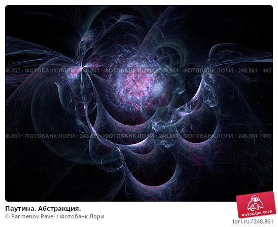 Паутина. Абстракция., иллюстрация № 248861 (c) Parmenov Pavel / Фотобанк Лори