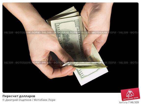 Пересчет долларов, фото № 146509, снято 10 февраля 2007 г. (c) Дмитрий Ощепков / Фотобанк Лори