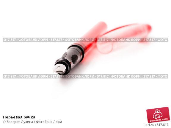 Перьевая ручка, фото № 317817, снято 6 июня 2008 г. (c) Валерия Потапова / Фотобанк Лори