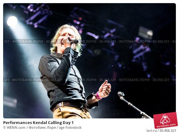 Performances Kendal Calling Day 1 (2017 год). Редакционное фото, фотограф WENN.com / age Fotostock / Фотобанк Лори
