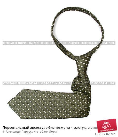 Персональный аксессуар бизнесмена - галстук, в виде стрелки, фото № 160981, снято 25 декабря 2006 г. (c) Александр Паррус / Фотобанк Лори