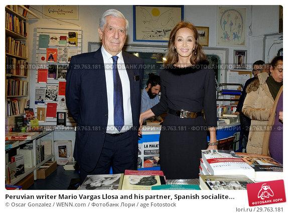 Купить «Peruvian writer Mario Vargas Llosa and his partner, Spanish socialite Isabel Preysler, attend the book launch of 'Encounters with Mario Vargas Llosa' at...», фото № 29763181, снято 20 февраля 2018 г. (c) age Fotostock / Фотобанк Лори