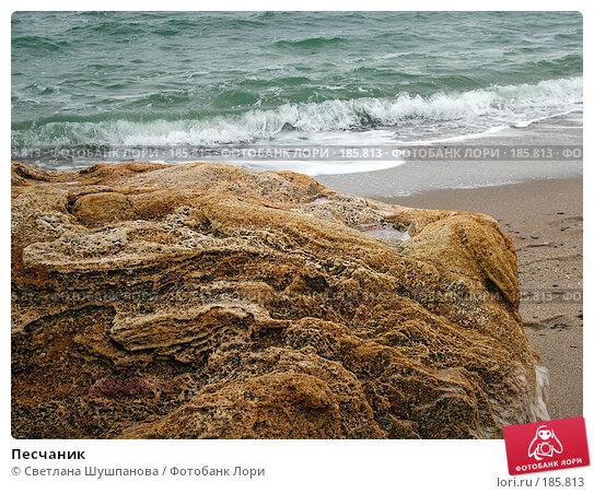 Песчаник, фото № 185813, снято 8 января 2006 г. (c) Светлана Шушпанова / Фотобанк Лори