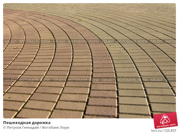 Пешеходная дорожка, фото № 125837, снято 21 сентября 2007 г. (c) Петухов Геннадий / Фотобанк Лори