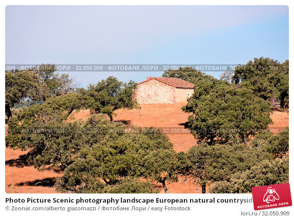 Photo Picture Scenic photography landscape European natural countryside. Стоковое фото, фотограф Zoonar.com/alberto giacomazzi / easy Fotostock / Фотобанк Лори