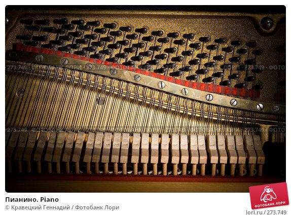 Пианино. Piano, фото № 273749, снято 3 октября 2006 г. (c) Кравецкий Геннадий / Фотобанк Лори