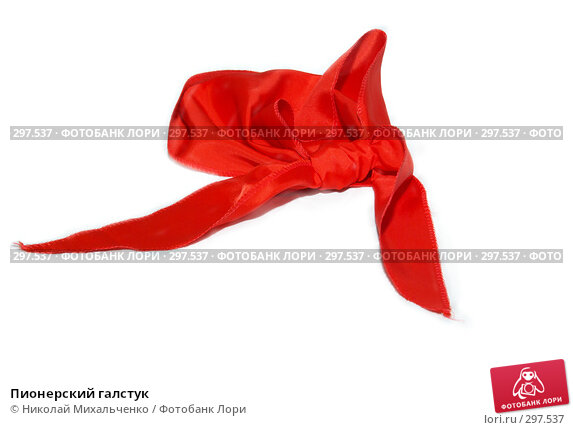 Пионерский галстук, фото № 297537, снято 24 мая 2008 г. (c) Николай Михальченко / Фотобанк Лори