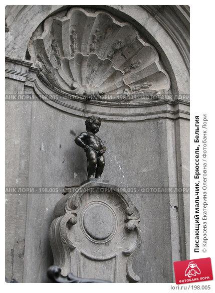 Купить «Писающий мальчик, Брюссель, Бельгия», фото № 198005, снято 21 августа 2007 г. (c) Карасева Екатерина Олеговна / Фотобанк Лори