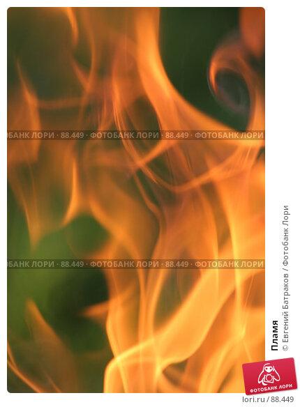 Купить «Пламя», фото № 88449, снято 12 августа 2007 г. (c) Евгений Батраков / Фотобанк Лори
