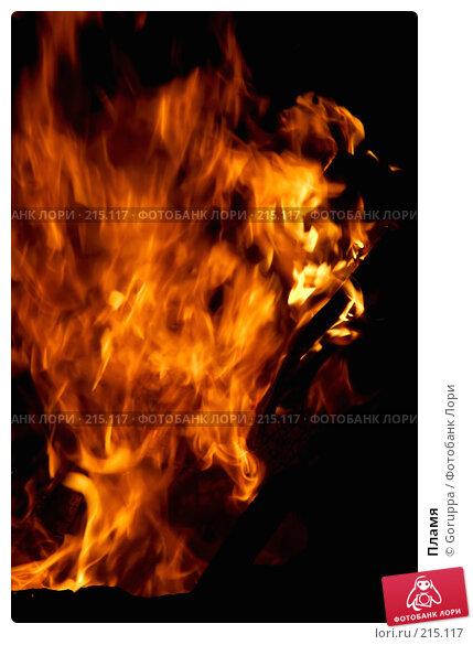 Пламя, фото № 215117, снято 25 июля 2007 г. (c) Goruppa / Фотобанк Лори