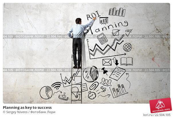 Купить «Planning as key to success», фото № 22504105, снято 24 февраля 2020 г. (c) Sergey Nivens / Фотобанк Лори
