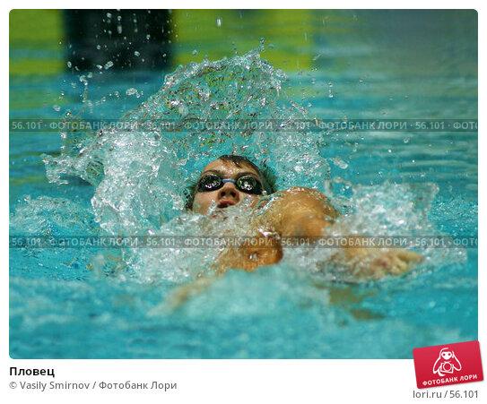 Пловец, фото № 56101, снято 22 января 2004 г. (c) Vasily Smirnov / Фотобанк Лори