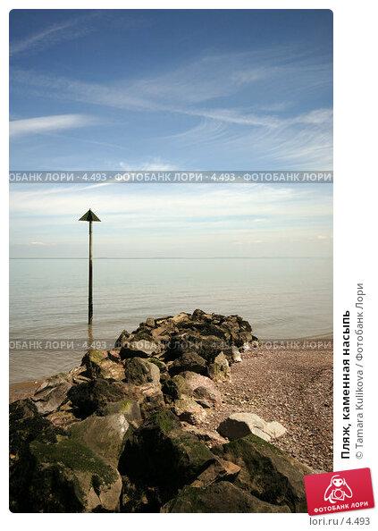 Пляж, каменная насыпь , фото № 4493, снято 5 июня 2006 г. (c) Tamara Kulikova / Фотобанк Лори