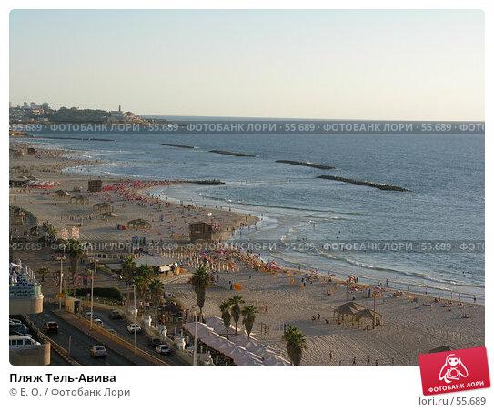 Купить «Пляж Тель-Авива», фото № 55689, снято 23 сентября 2005 г. (c) Екатерина Овсянникова / Фотобанк Лори