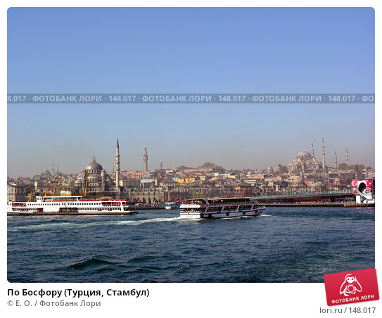 По Босфору (Турция, Стамбул), фото № 148017, снято 14 апреля 2007 г. (c) Екатерина Овсянникова / Фотобанк Лори