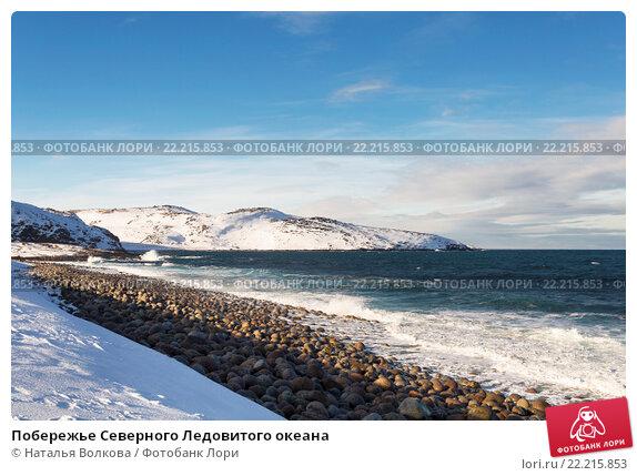 Побережье Северного Ледовитого океана, фото № 22215853, снято 11 марта 2016 г. (c) Наталья Волкова / Фотобанк Лори