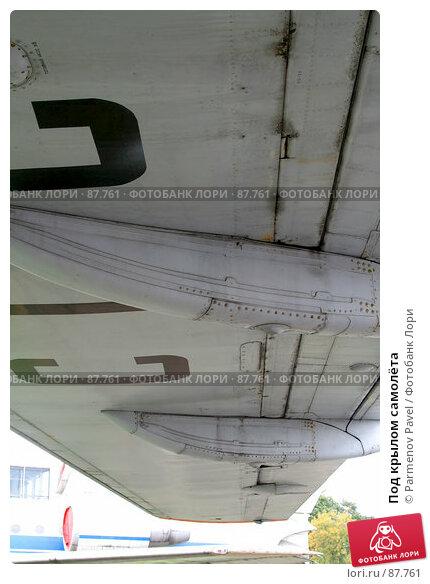 Под крылом самолёта, фото № 87761, снято 16 сентября 2007 г. (c) Parmenov Pavel / Фотобанк Лори