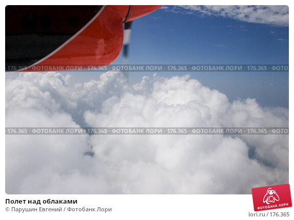 Полет над облаками, фото № 176365, снято 18 августа 2017 г. (c) Парушин Евгений / Фотобанк Лори
