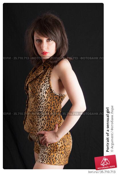 Portrait of a sensual girl. Стоковое фото, фотограф Argument / Фотобанк Лори