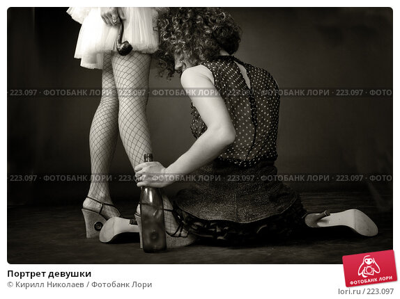 Портрет девушки, фото № 223097, снято 14 июля 2007 г. (c) Кирилл Николаев / Фотобанк Лори