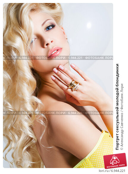Купить «Портрет сексуальной молодой блондинки», фото № 6944221, снято 15 июня 2018 г. (c) Александр Савченко / Фотобанк Лори