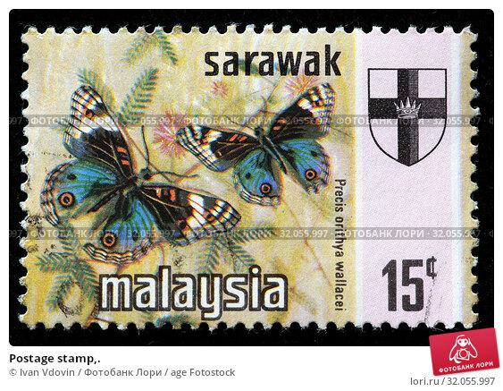Postage stamp,. (2010 год). Редакционное фото, фотограф Ivan Vdovin / age Fotostock / Фотобанк Лори