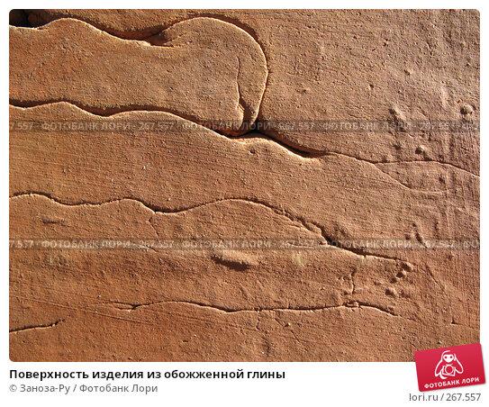 Купить «Поверхность изделия из обожженной глины», фото № 267557, снято 26 апреля 2008 г. (c) Заноза-Ру / Фотобанк Лори