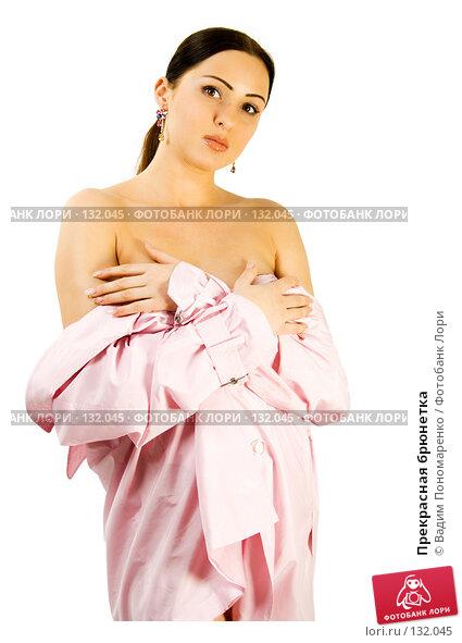 Прекрасная брюнетка, фото № 132045, снято 30 мая 2007 г. (c) Вадим Пономаренко / Фотобанк Лори