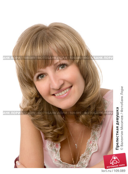 Прелестная девушка, фото № 109089, снято 26 мая 2007 г. (c) Валентин Мосичев / Фотобанк Лори