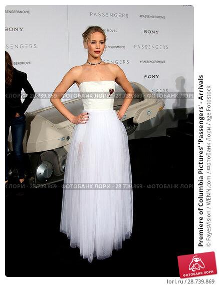Купить «Premiere of Columbia Pictures' 'Passengers' - Arrivals Featuring: Jennifer Lawrence Where: Westwood, California, United States When: 15 Dec 2016 Credit: FayesVision/WENN.com», фото № 28739869, снято 15 декабря 2016 г. (c) age Fotostock / Фотобанк Лори